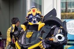 SDCC 2015 Bumblebee Cosplay