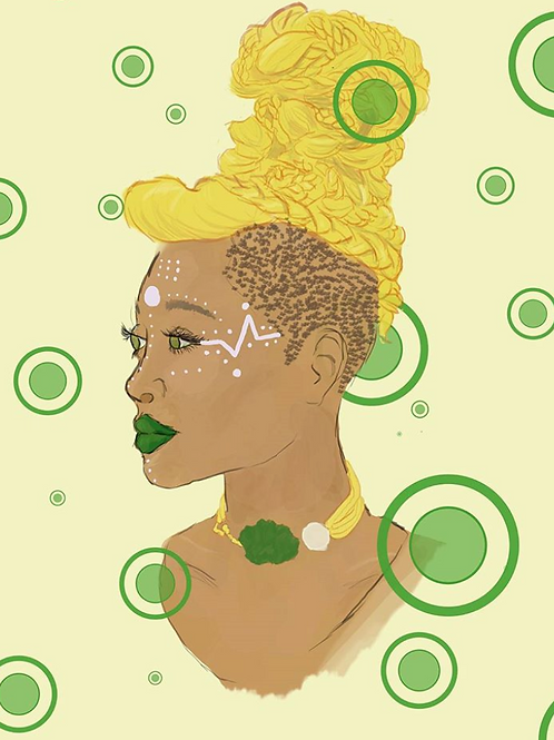 Amber - 8x10 Print