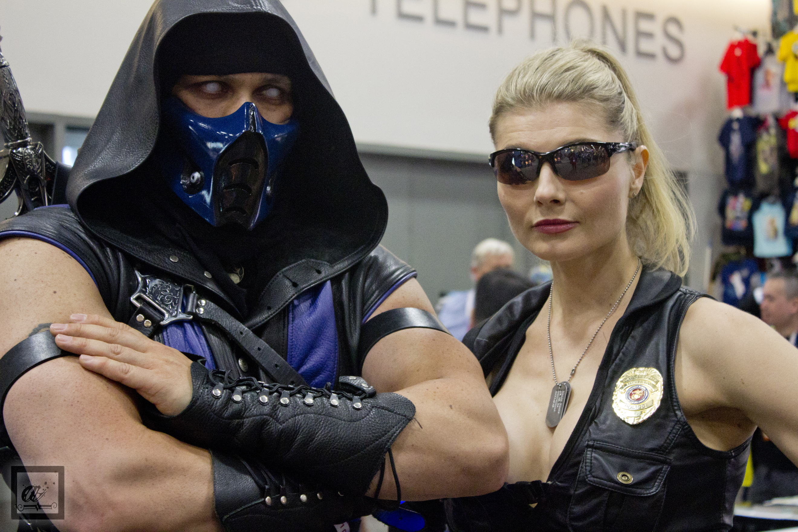 SDCC1 2015 Mortal Kombat Cosplay