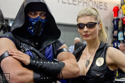 SDCC1 2015 Mortal Kombat Cosplay