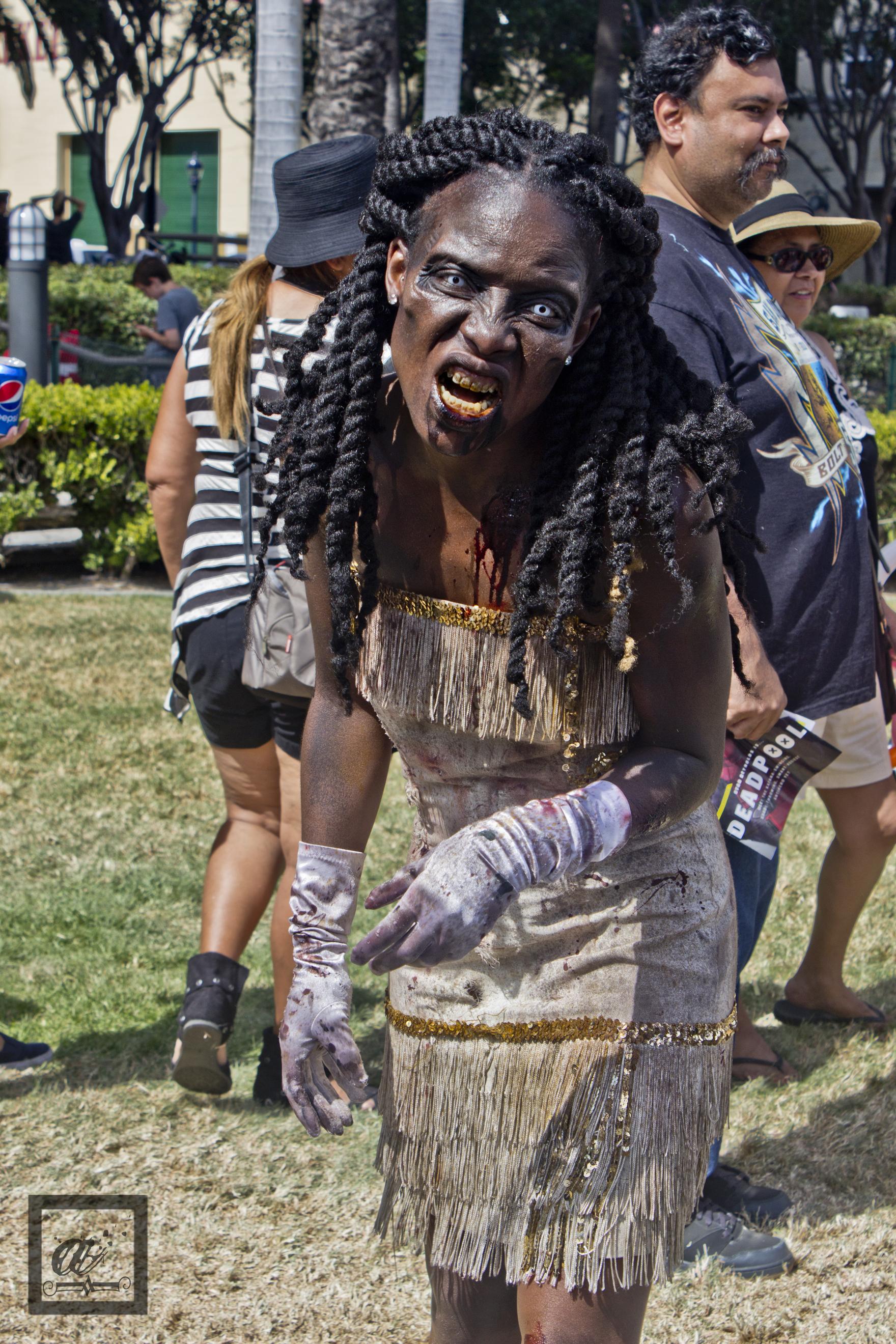 SDCC 2015 Zombie Cosplay
