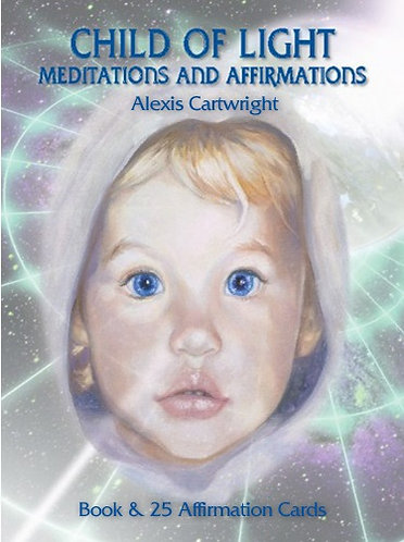 Child of Light Meditation Book & Card Set