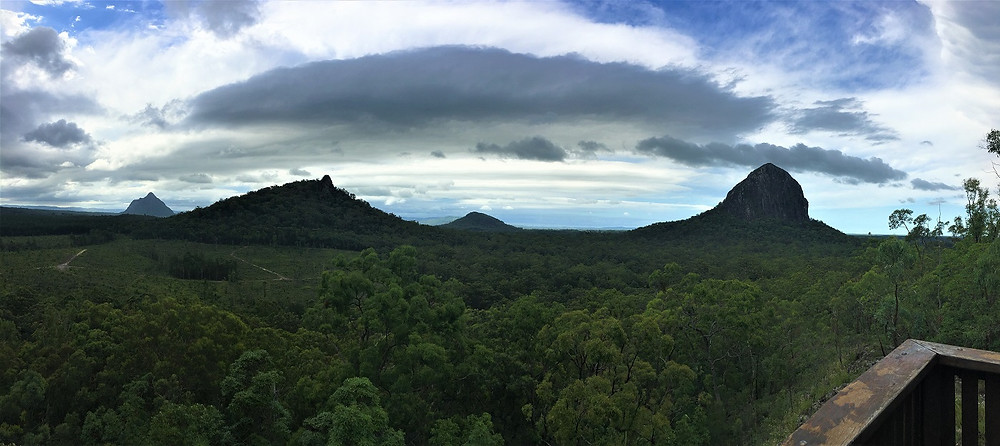 Glass House Mountains - Jack Ferris Lookout