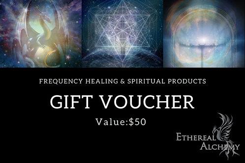 Gift Voucher - $50AUD