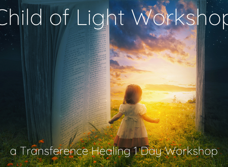 Everything You Wanted To Know About the Transference Healing Child of Light Workshop