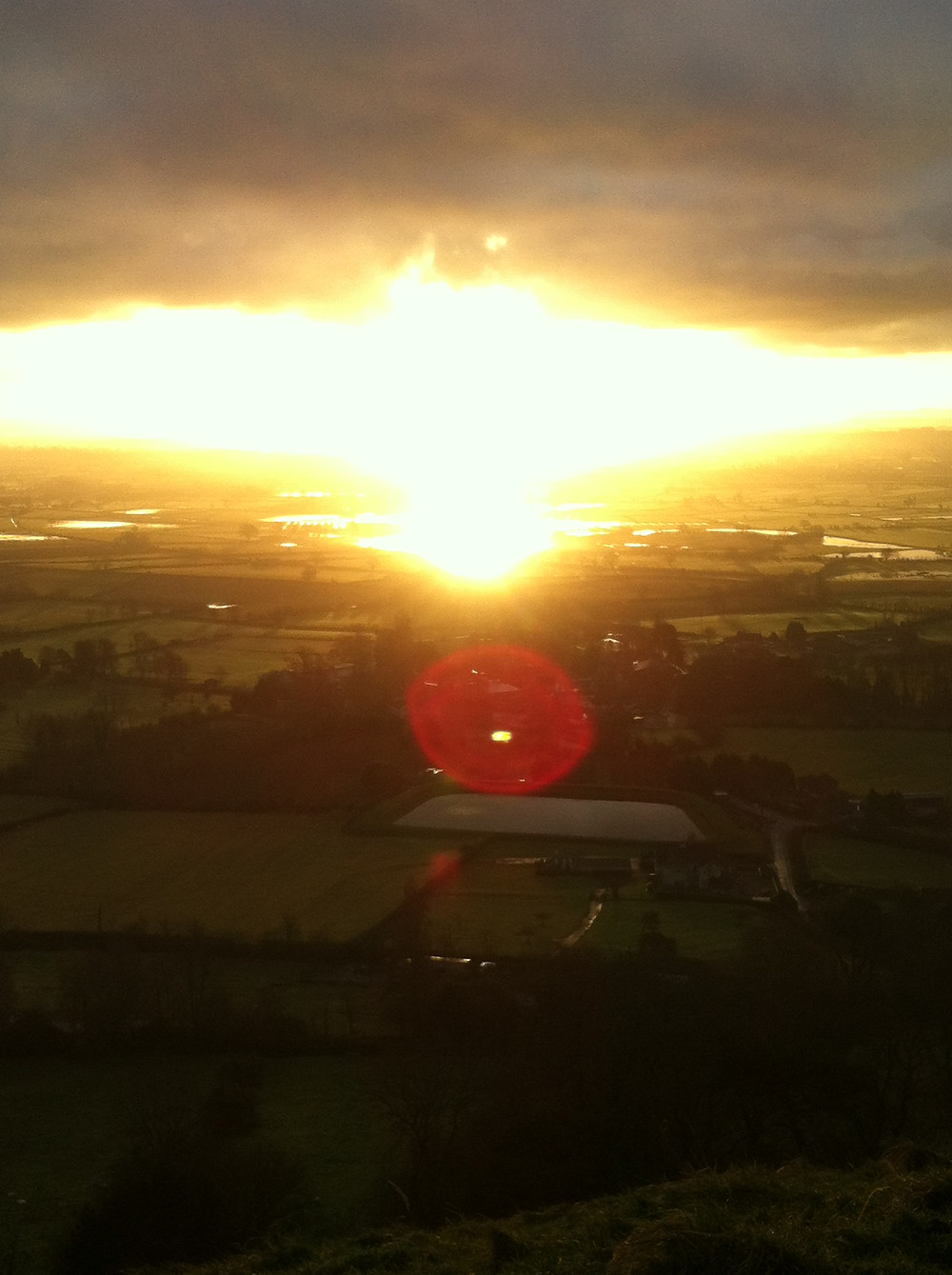 Phoenix Sunrise - Glastonbury Tor 21.12.2012