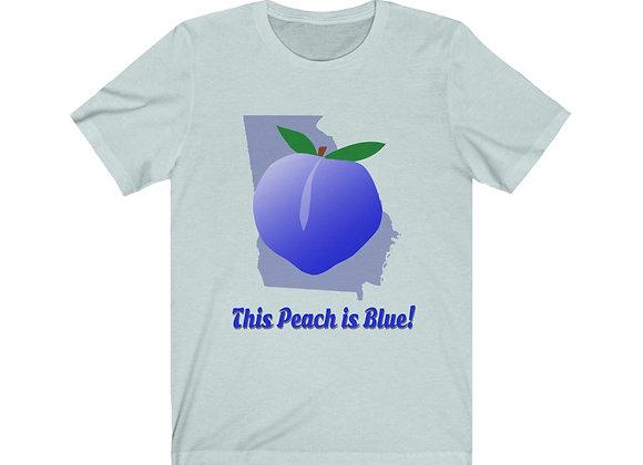 Blue Peach Unisex Jersey Tee