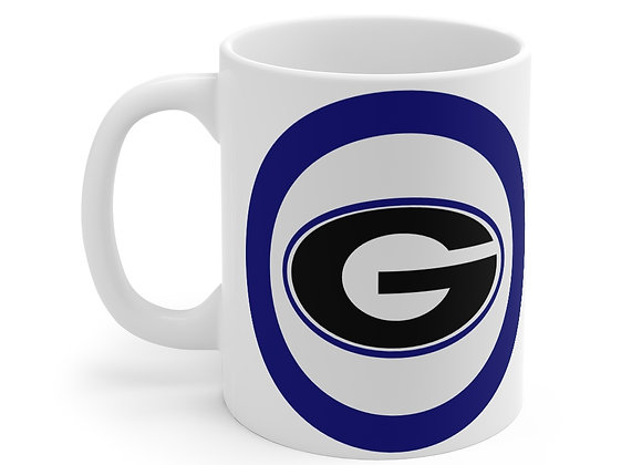 Blue Georgia G Mug 11oz