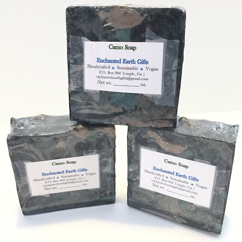 Camo Soap (Tobacco and Amber fragrance)