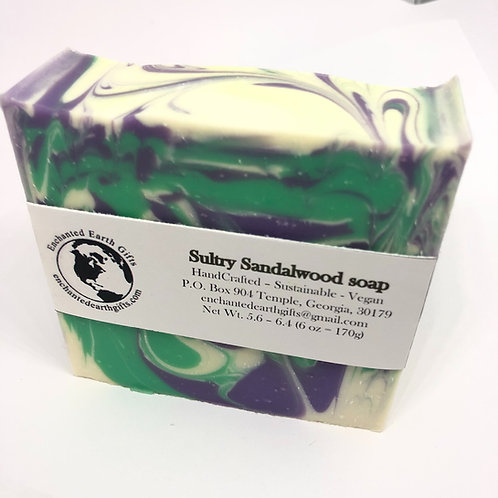 Sultry Sandalwood soap