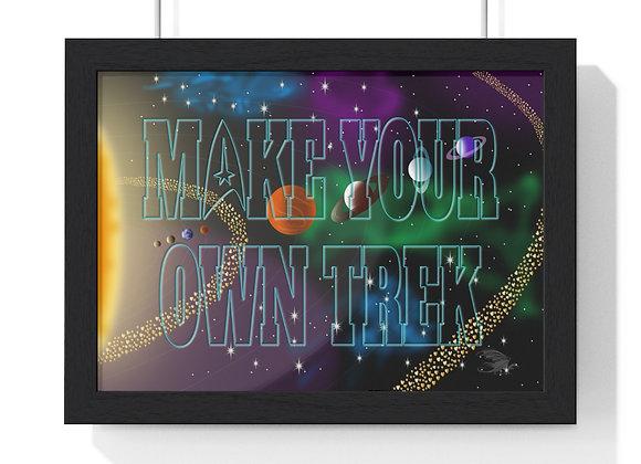 Trek Art Premium Framed Horizontal Poster
