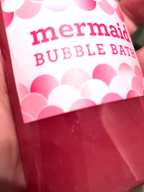 Mermaid Bubble Bath