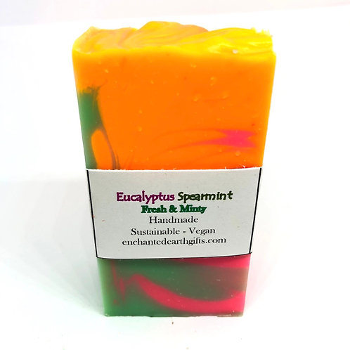 Eucalyptus Spearmint Sample soap