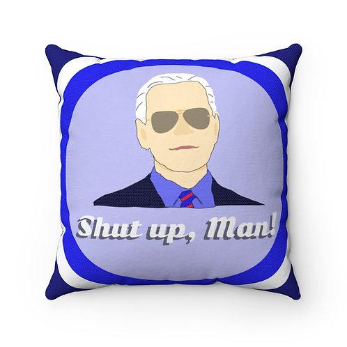 Biden Harris Reversible Spun Polyester Pillow