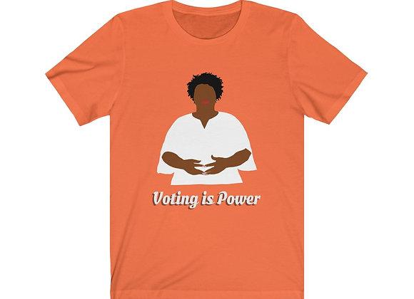 Voting is Power - Unisex Jersey Tee
