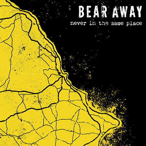 Bear Away - Never in the same place CD