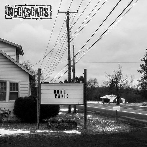 "Neckscars - Don't Panic 12"" vinyl LP"