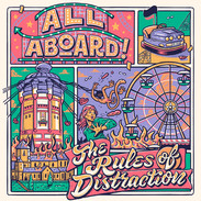 IGN308 All Aboard - The Rules Of Distraction CD & LP