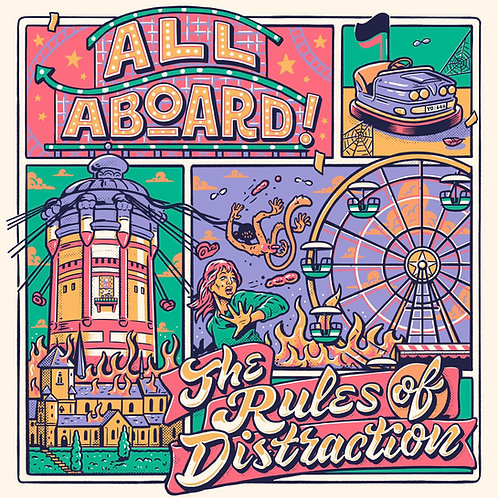 All Aboard! - The rules of distraction CD