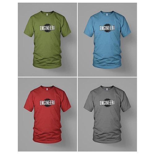 Burst logo - Engineer Records T-Shirt
