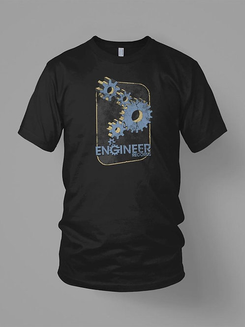 """Engineer Records T-Shirt - """"Cogs"""" (U.S. orders)"""