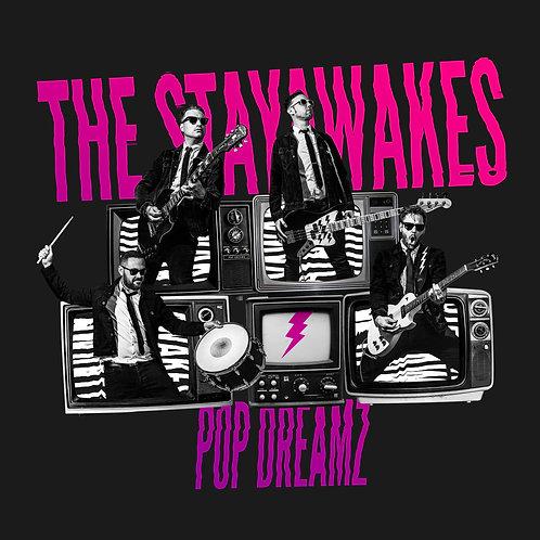 "The Stayawakes – Pop Dreamz 12"" vinyl LP"