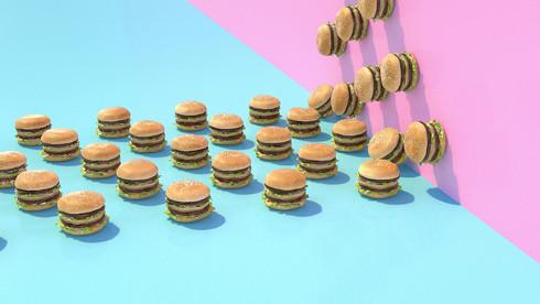 Burger Slider