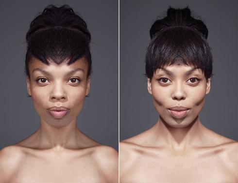 Symmetrical Portrait Series