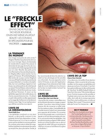 Elle France. August 2018