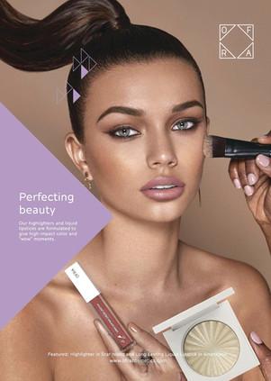 Allure. Ad Campaign OFRA Cosmetics