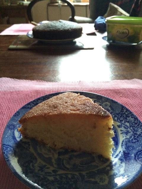 レモンドリズルケーキ lemon drizzle cake