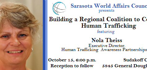 SWAC Sponsors Events on Building  a Regional Coalition to Combat Human Trafficking