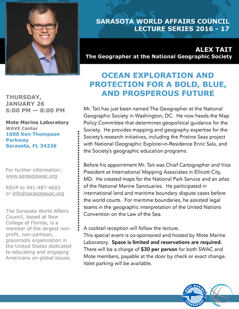 Lecture Series: Ocean Exploration and Protection for a Bold, Blue, and Prosperous Future