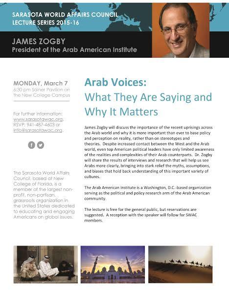 Speaker Series: James Zogby
