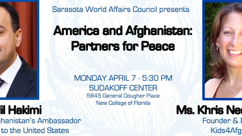 America and Afghanistan as Partners for Peace