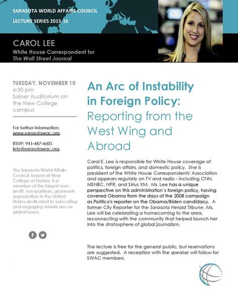 Speaker Series: Carol Lee
