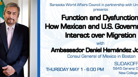 Mexican Consul General Speaks on Immigration