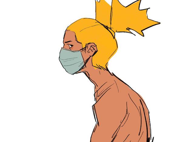 Judul Karya: wear a mask