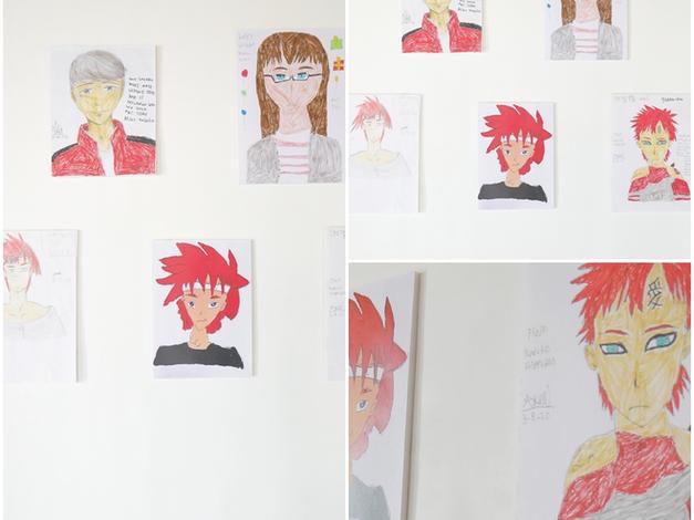 Judul Karya: my favorite anime manual sketch