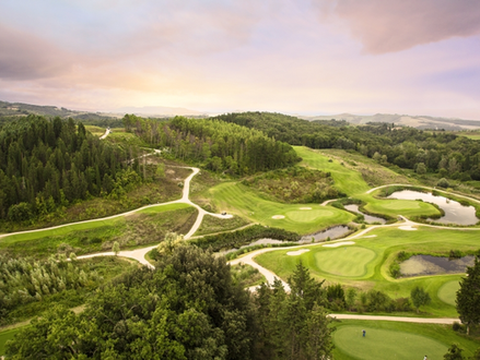 Golfing in Tuscany