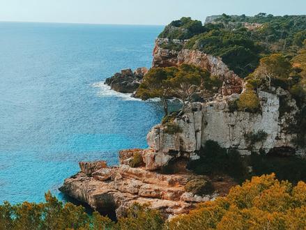 The Mediterranean island called Mallorca...