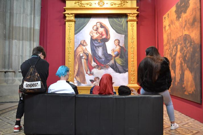 Besuch der Ausstellung in der Votivkirche