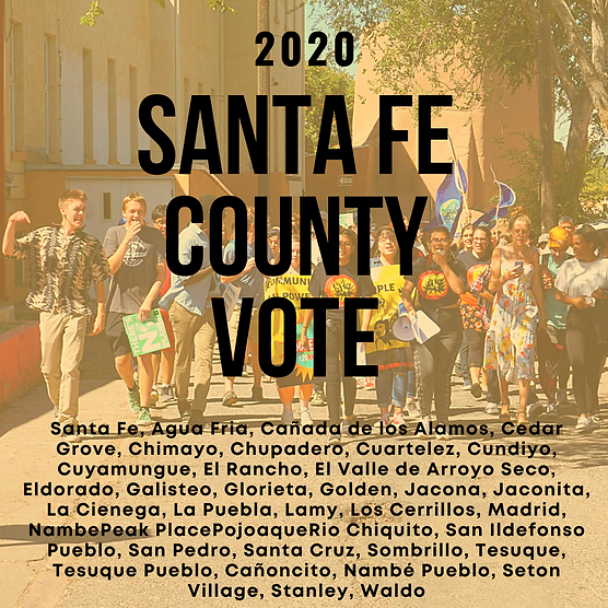 Copy of Santa Fe County Basic Election I