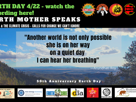 50TH EARTH DAY & MUTUAL AID UPDATES