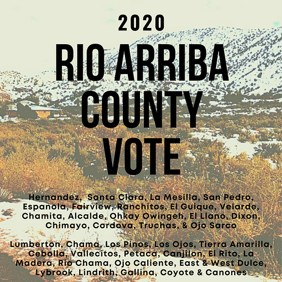 Rio Arriba County Basic Election Info.pn