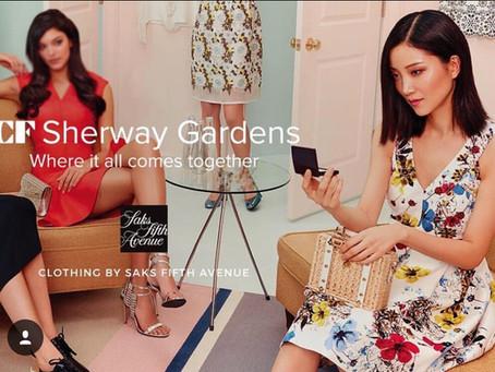 王旖溪最新代言Sherway Gardens Campaign