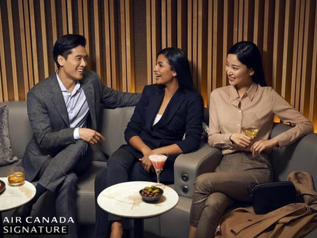 Ishie for Air Canada Campaign