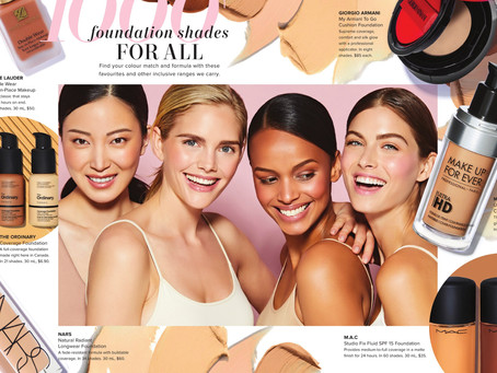 Ishie is featured in the newest The Bay Beauty Book