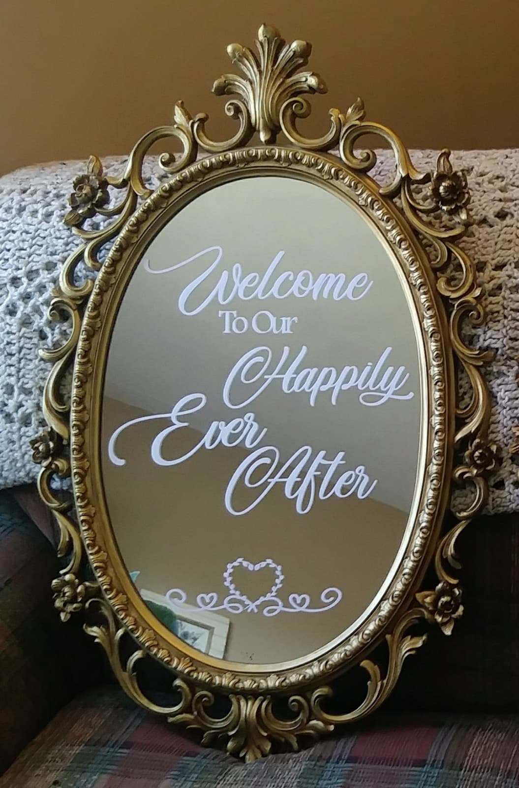 Ornate Happily Ever After - $40.00