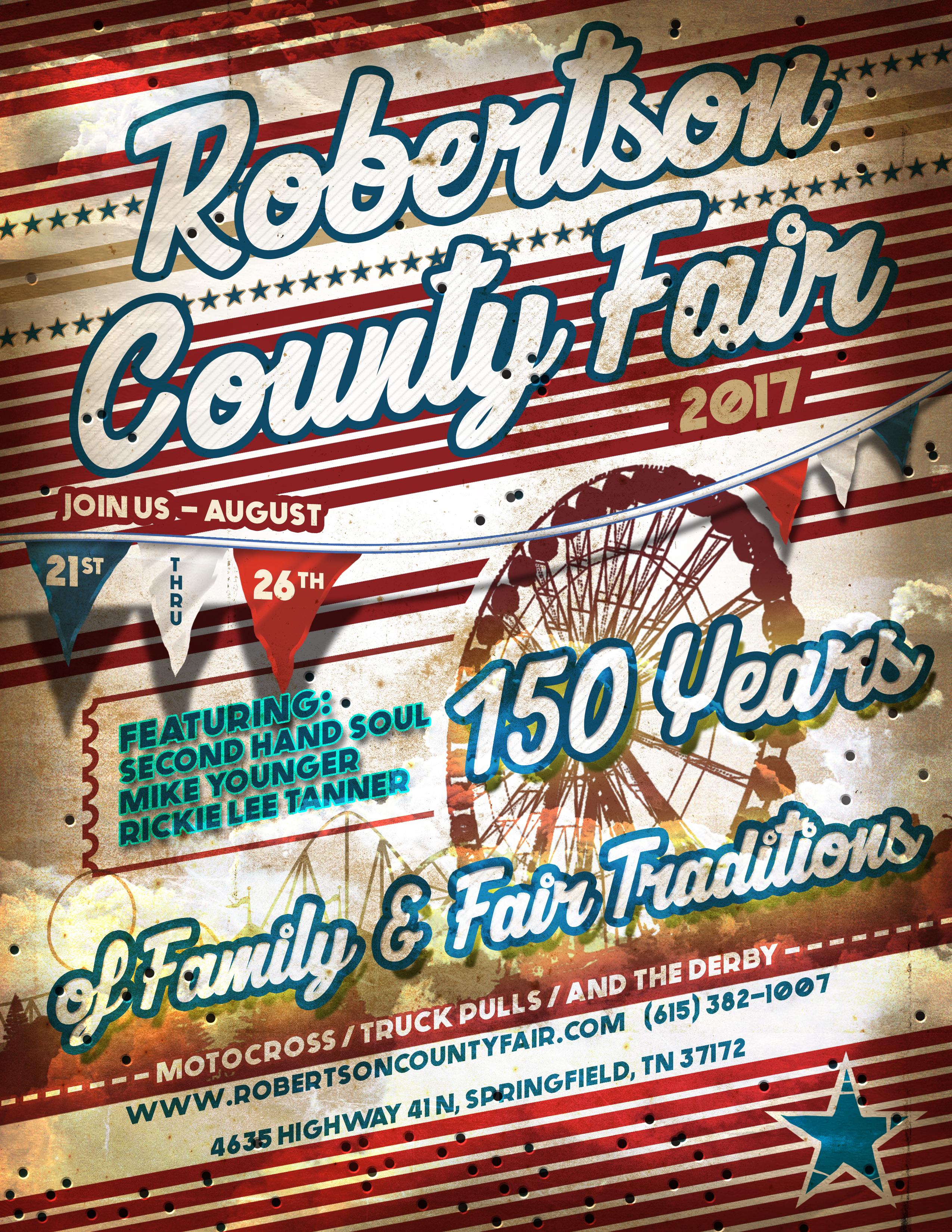 Robertson County Fair Flyer